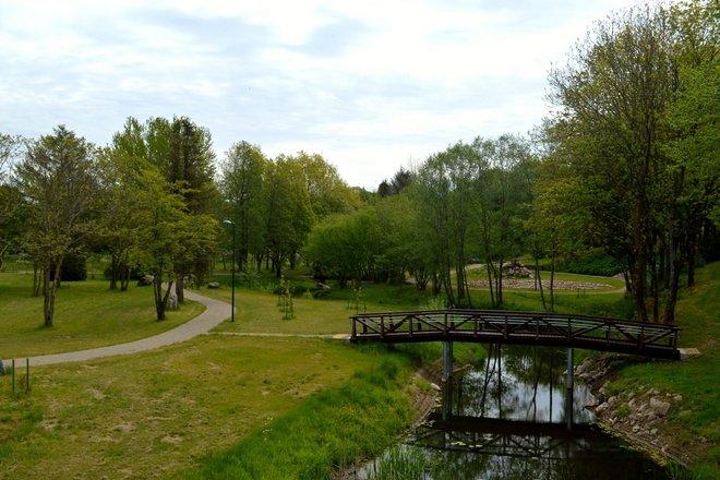 Parko takeliais